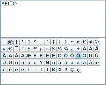 Simple Virtual Keyboard for Adobe Connect